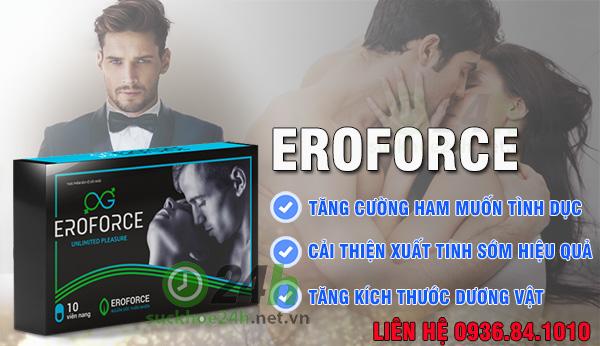 Review Eroforce là gì giá bao nhiêu mua ở đâu