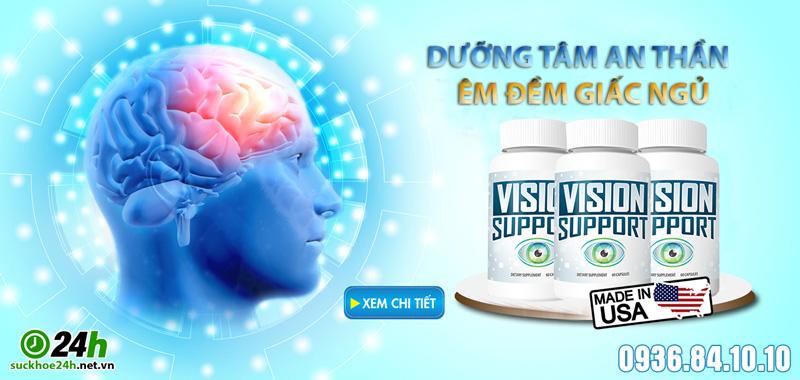 giới thiệu hoạt huyết dưỡng não Vision Support