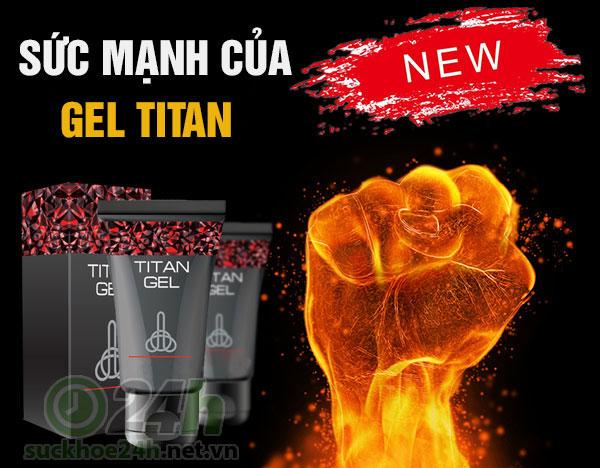 sức mạnh của gel titan