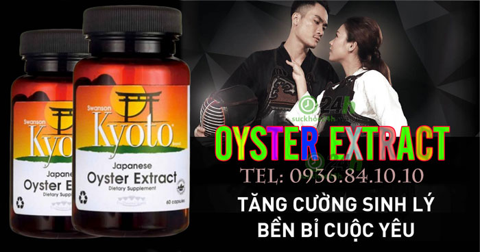 Công dụng  Oyster Extract
