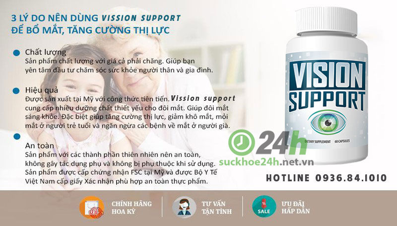 vission support